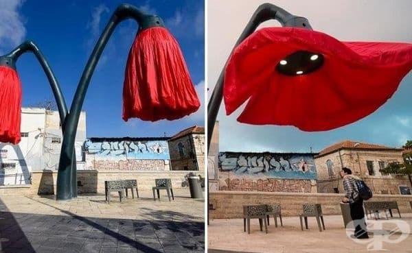 Интелигентни градски лампи.