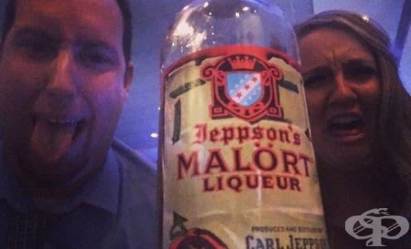 Шведски ликьор Mal?rt. Напитката съществува от миналия век, но се характеризира с убийствено съдържание на пелин. Той е толкова концентриран, че ликьорът е обявен за най-отвратителното питие, дори сред любителите на силни усещания.