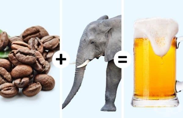 """Японска бира """"Un, Kono Kuro"""". Тя е създадена от фекалии на слонове, хранени с плодове и кафе. Според производителите напитка има по-наситен мирис на банан и захарна тръстика. Тя е световно известна и високо ценена от различни дегустатори."""