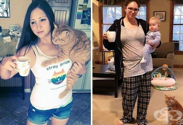 Вижте как се променя семейството, след като се появят децата