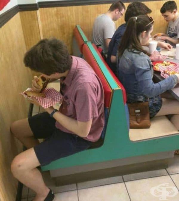 Неправилно изчислено място или място за интроверти?