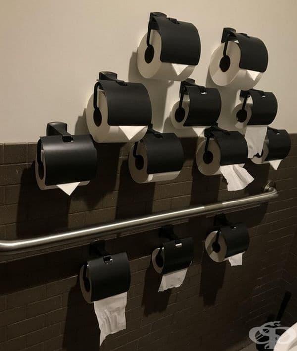 Тоалетната хартия скоро няма да свърши!