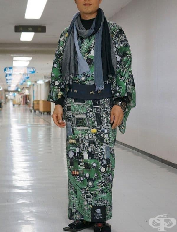 Съвременно кимоно.