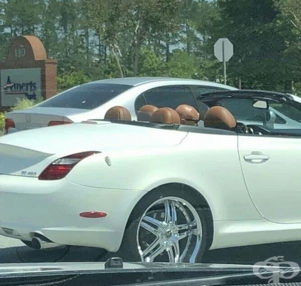 Колко пътници виждате в колата?