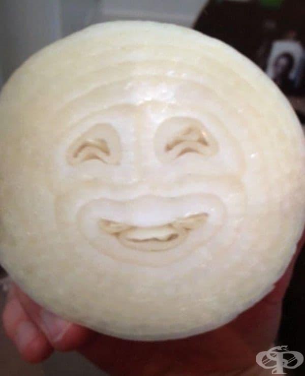 Усмивката на лука.