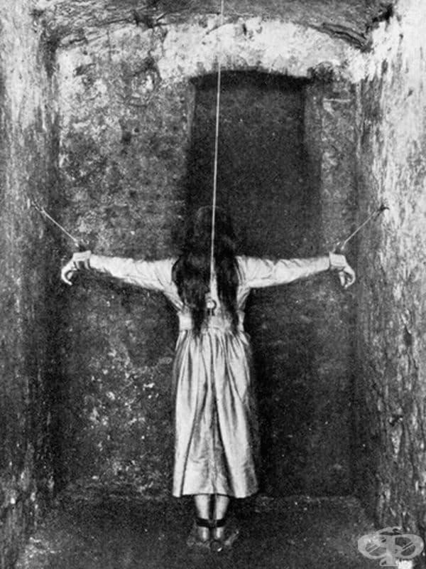 По този начин хората са били лекувани за психични заболявания в Германия през 19-ти век.