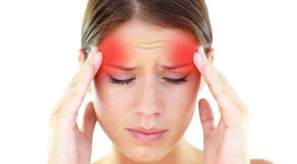 Главоболие. Появата на главоболие се свързва с намаляване на количеството естроген в кръвта.
