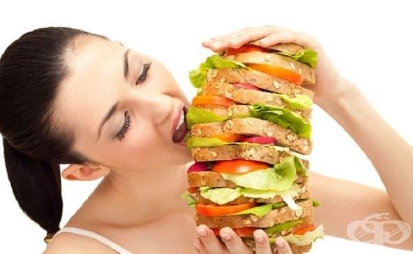 Повишен апетит. Понижаването на нивата на естроген води до намаляване на нивото на лептин (хормонът, контролиращ апетита).