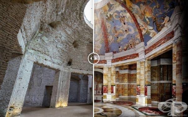 Златната къща на Нерон (Рим, Италия)