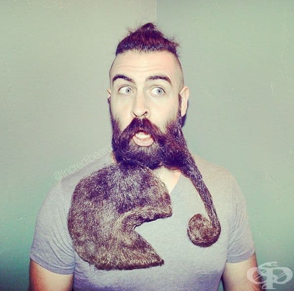 Мъж от Сан Франциско създава уникални произведения с брадата си