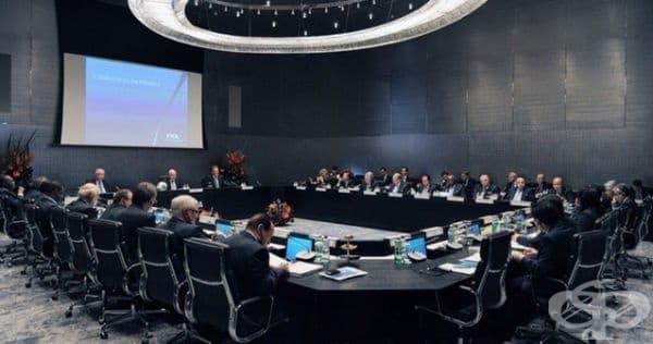 Ето как изглежда заседателната зала на FFA.