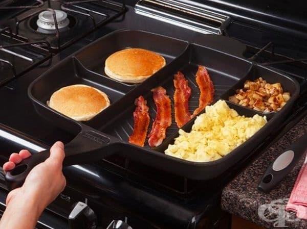 За да приготвите закуската си наведнъж.