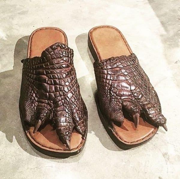 За да се почувствате като крокодил.