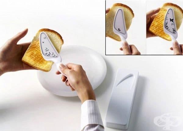 Мини тостер под формата на нож.