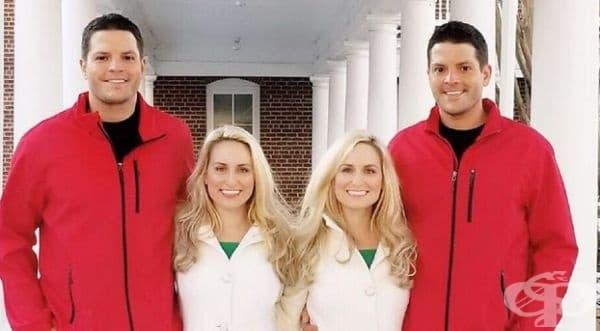 Запознайте се с близнаците Джош и Джеръми Салиърс и близначките Британи и Бриана Дийн.