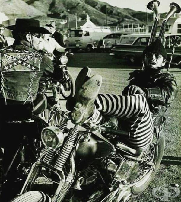 Джак Никълсън през 60-те години на миналия век.
