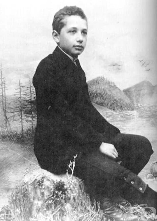 12-годишният Алберт Айнщайн, 1891 г.