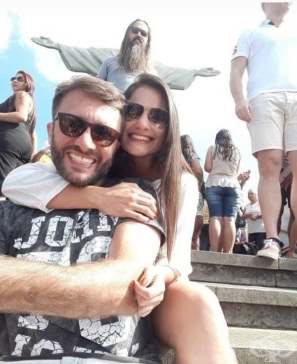 Това е може би най-добрата снимка, направена някога в Рио.