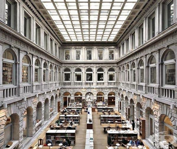 """Национална библиотека """"Свети Марко"""", Венеция, Италия."""