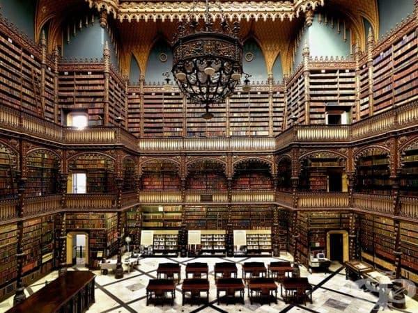 Кралската библиотека в Рио, Бразилия.