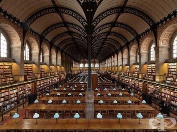 """Библиотека """"Сен Женевьов"""", Париж, Франция."""