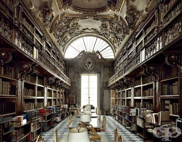 """Библиотека """"Рикардия"""", Флоренция, Италия."""