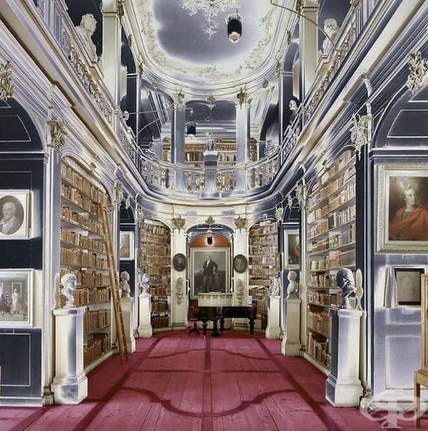 "Библиотека ""Дукеса Анна Амалия"", Ваймар, Германия."