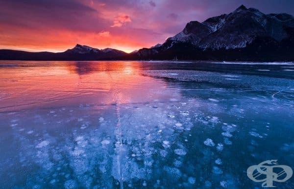 Езерото Абрахам, Канада.
