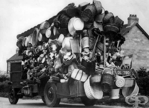 Продавач от Холандия, 30-те години на миналия век.