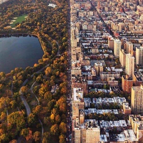 Много градове в Щатите са били проектирани на чертожната дъска.