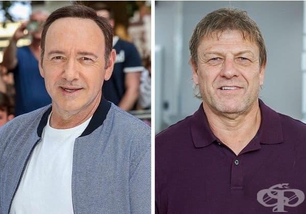 Кевин Спейси и Шон Бийн: 59 години