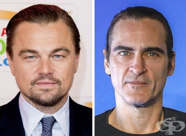Леонардо Ди Каприо и Хоакин Финикс: 44 години