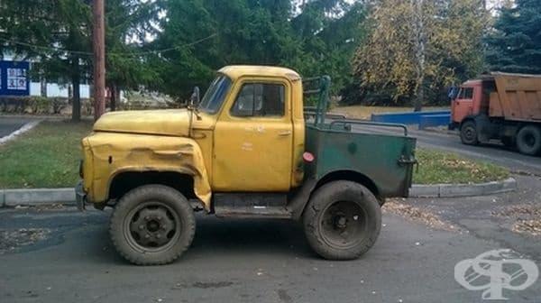 Имало и такива камиони, където каросерията е по-малка от кабината.
