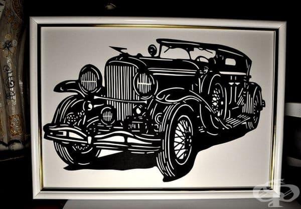 Пенсионер създава невероятни картини от изрязана хартия, които поразяват с изтънченост