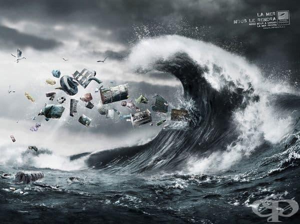 Морето не може да ги поеме.