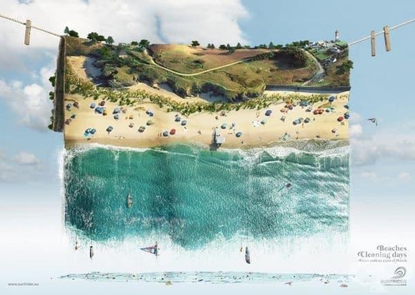 Не замърсявайте плажовете!