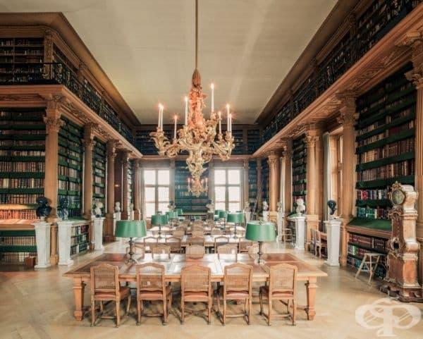 """Библиотека """"Мазарини"""", Париж, Франция."""