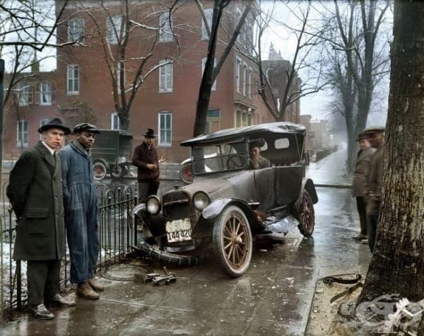Инцидент във Вашингтон, 1921г. (оцветяването е добавено   впоследствие).