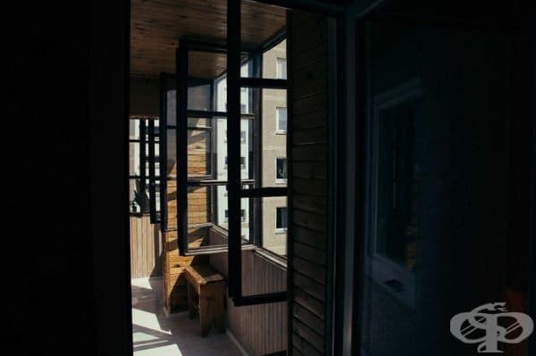 Балконът на жилището.
