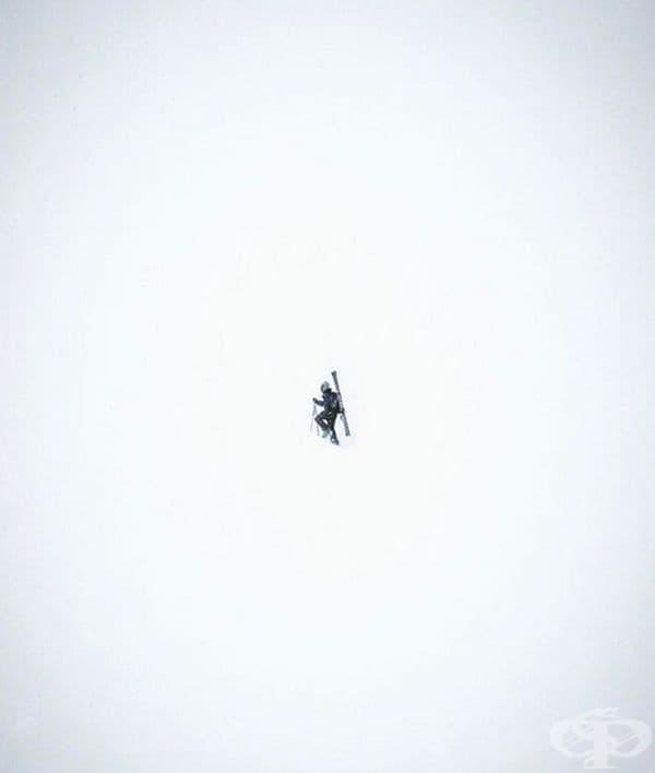 Снежен поход.