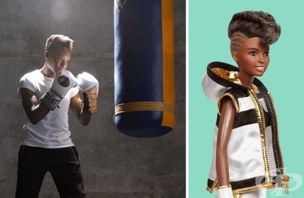 Никола Адамс Оби, шампион по бокс.