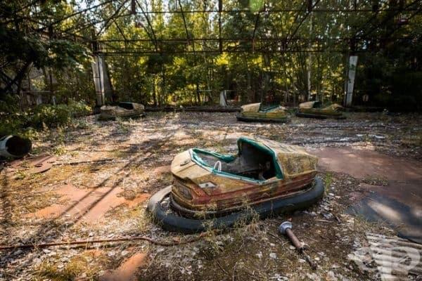 33 години след катастрофата в Чернобил.