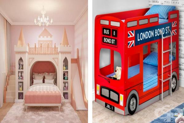 18 дизайна на двуетажни легла, на които всяко дете ще се зарадва - изображение