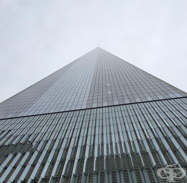 Сградата сякаш няма край.