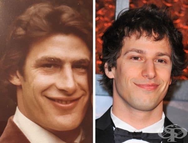 """'Снимка на сверъка ми, когато е бил на 40 г. Като двойник на Анди Самберг е."""""""