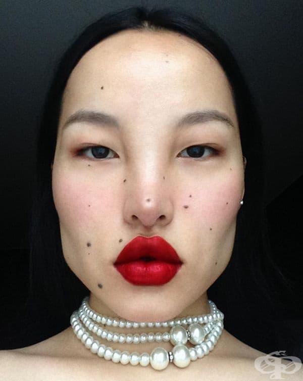 Цунана. Моделът от Тибет бе откритието на последната седмица на модата в Лондон. Уникалният външен вид на Цунана не остава безразличен и мнозина са уверени, че скоро ще се говори за нея.