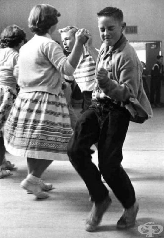 Танцово училище, 1950.