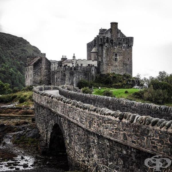 Замъкът Елън Донан, Великобритания