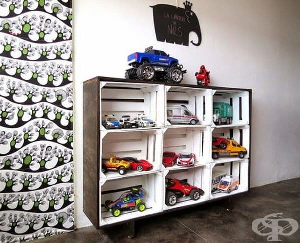При повече коли, ще е нужен по-голям шкаф.
