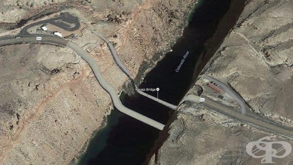 """""""Разглеждайки Google Maps, започнах да си задавам въпроси за пътуването си в Аризона."""""""